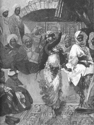Egyptian Dancing Girl 1884