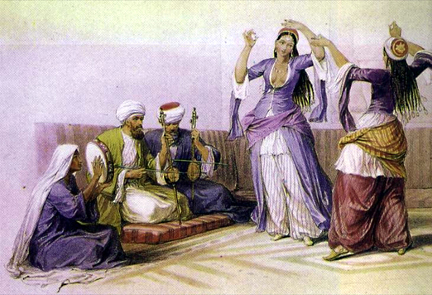 Gawazi in Cairo 19th century