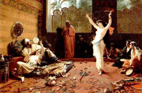Bailarina en Palacio