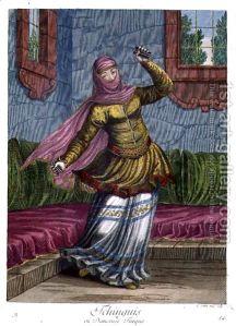 Tchinguis,-Or-Turkish-Dancer,-18th-Century